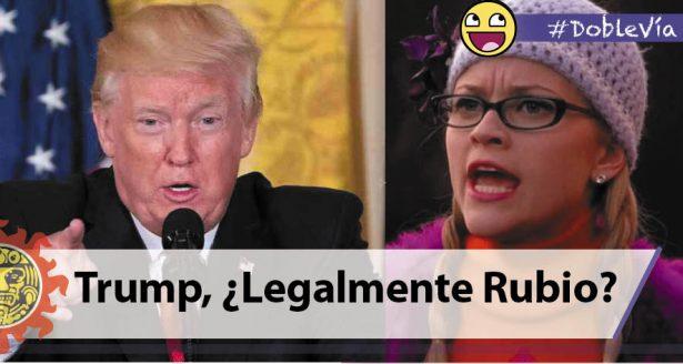 Trump, ¿Legalmente Rubio?