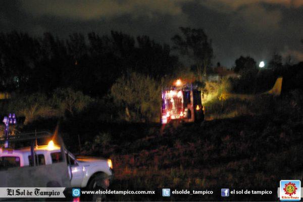 Reportan desplome de avioneta en aeropuerto de Tampico