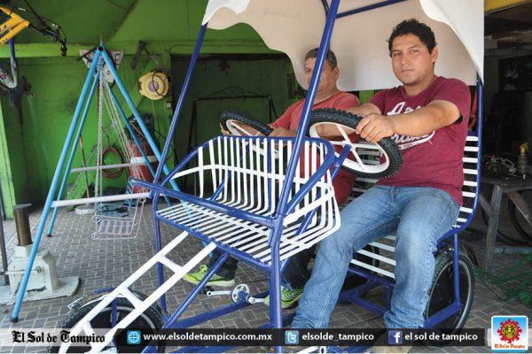 Creatividad y empeño mantiene vigente a fábrica tampiqueña de bicicletas