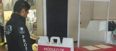 Instala Profeco módulo en el aeropuerto de Tampico