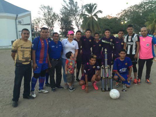 Barcelona campeón del torneo de minifutbol de la Liga Pirámide-Vicente Guerrero