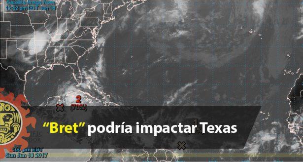"""Bret"" podría impactar Texas"