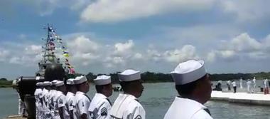 Incorpora Armada de México la patrulla Chichén Itzá a la vigilancia costera