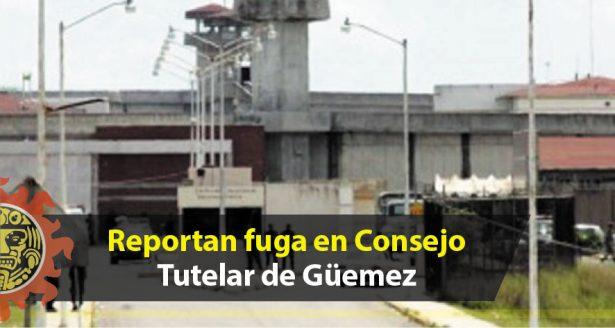 Reportan fuga en Consejo Tutelar de Güemez