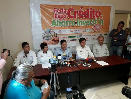 Realizarán la Expo-Crédito, Ahorro e Inversión en el Auditorio Municipal