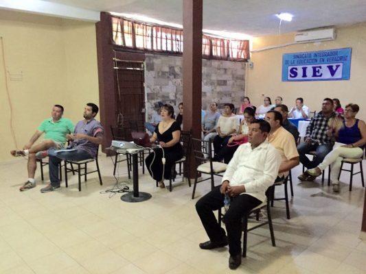 Se crea el Sindicato Integrador de la Educación en Veracruz (SIEV)