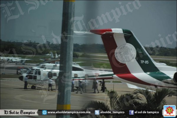 Realiza escala técnica Peña Nieto en Tampico