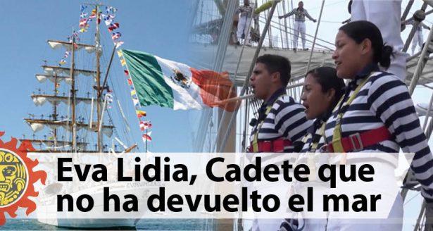Eva Lidia, cadete que no ha devuelto el mar