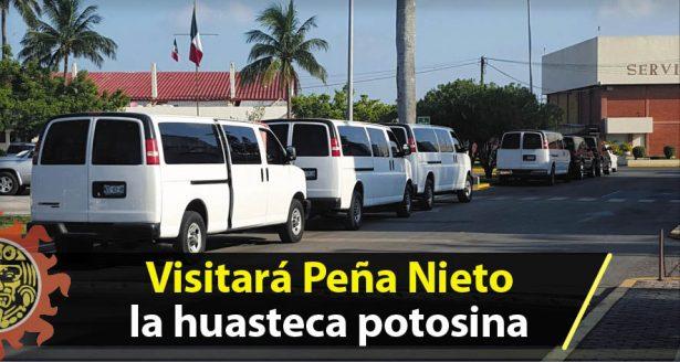 Visitará Peña Nieto la huasteca potosina