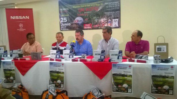 Realizarán Torneo de Golf a beneficio de la Cruz Roja Tampico