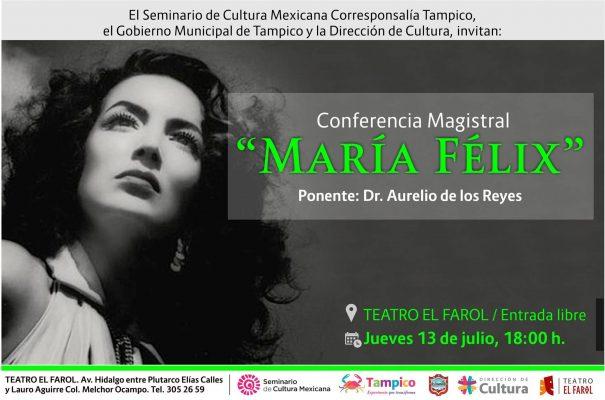 """Invitan hoy a la Conferencia sobre """"María Félix"""""""