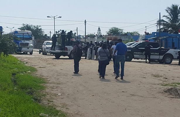 Cuatro detenidos por desalojo en Altamira