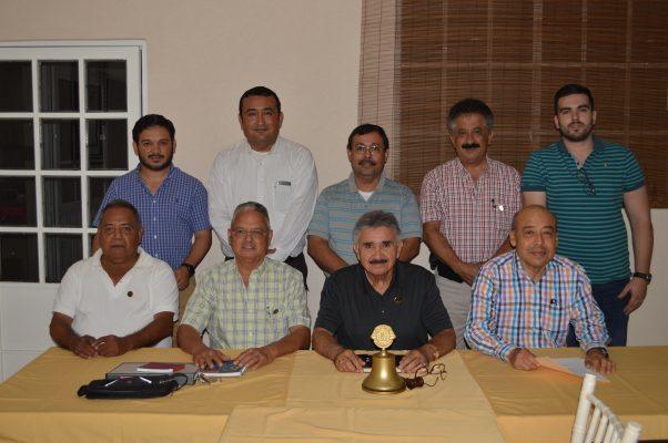 Junta de Trabajo de los Socios  Leones de Madero
