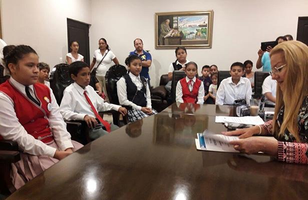 Estudiantes de primarias de Altamira visitarán al presidente de la República