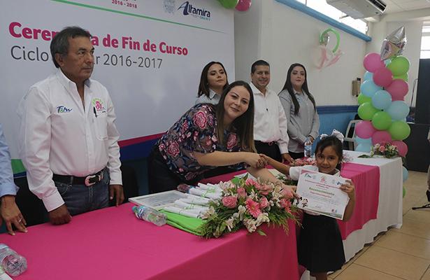 214 niños se gradúan del CAIC