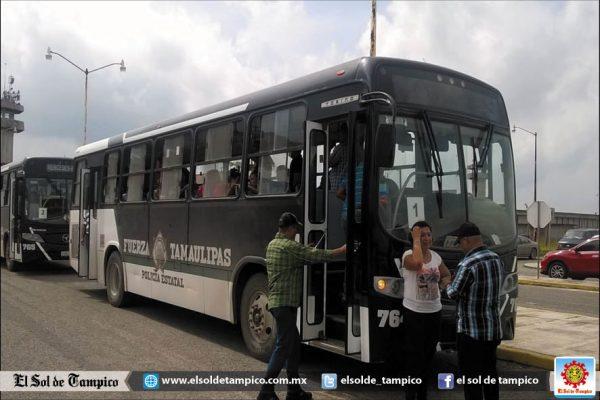 Más de ochenta custodios del Cedes Altamira son trasladados a otros penales