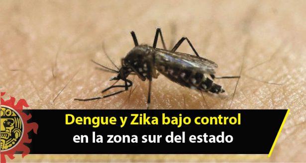 Dengue y Zika bajo control en la zona sur del estado