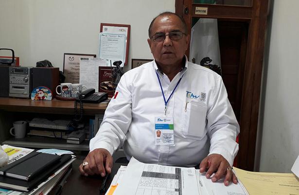 Dr. Genaro Ortiz Rentería, director del Centro de Salud de Tampico