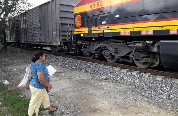 Buscan mejorar sistema de señales en vías del ferrocarril