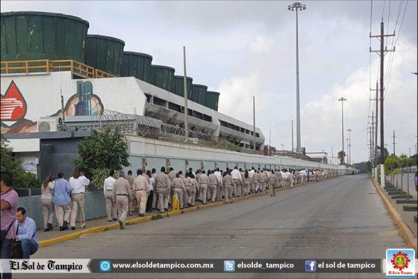 Realizan simulacro mayor en Refinería Madero