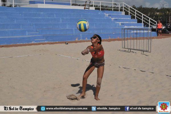Arrancó el Estatal de Voleibol de Playa en Miramar