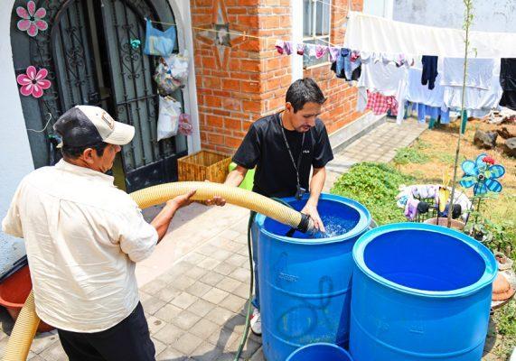 Mexicanos por encima del promedio mundial en consumo de agua