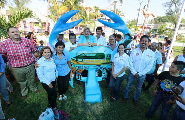 "Inaugura Magdalena Peraza el Parque Recreativo ""Guadalupe Mainero"""