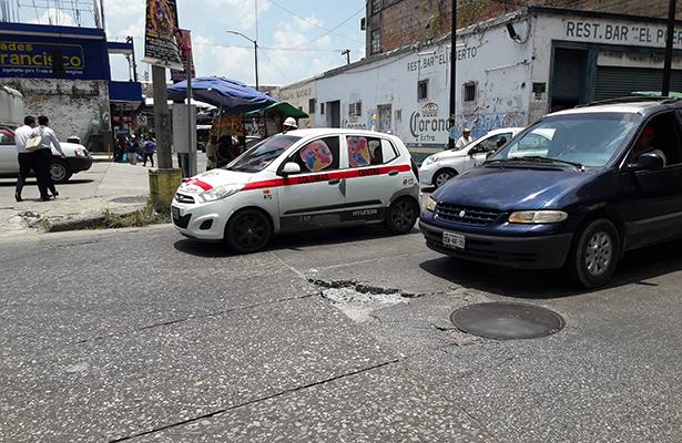 Evalúan el estado de calles a pavimentar