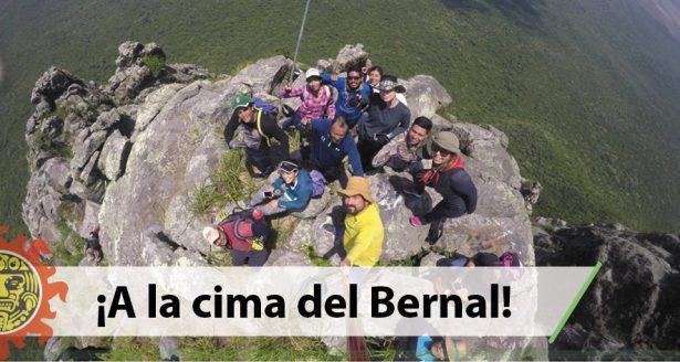 El orgullo de Tamaulipas  ¡A la cima del Bernal!
