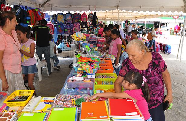 Con gran afluencia de visitantes cerró la Feria de Regreso a Clases