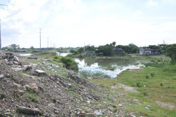 El agua empezará a reclamar sus territorios a los habitantes de Ciudad Madero