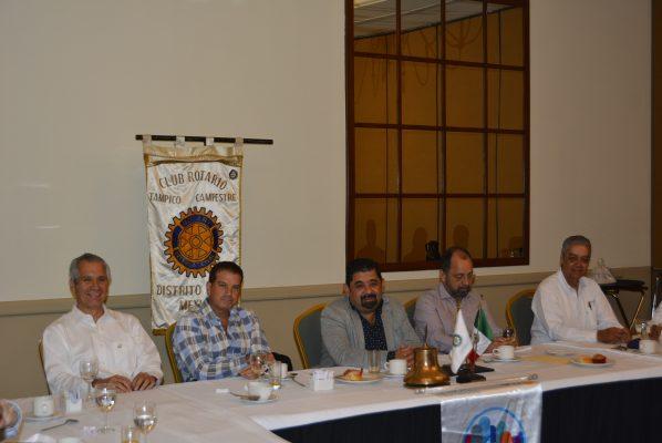 Junta de Trabajo del Club Rotario Tampico Campestre