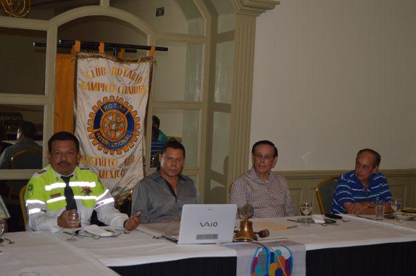 Junta de Trabajo del  Club Rotario Tampico Chairel