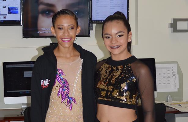Nailea y Monserrat, destacadas bailarinas tampiqueñas