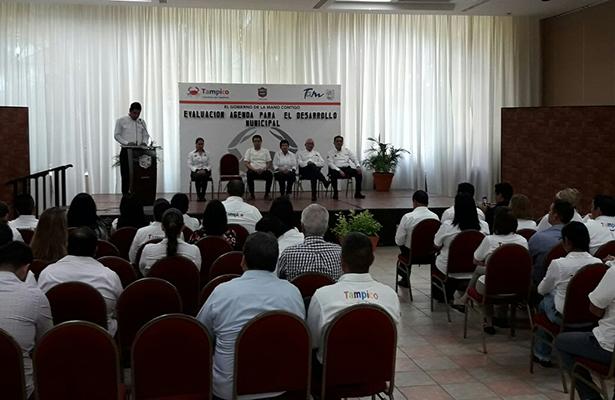 Llevan a cabo evaluación de avances de Tampico