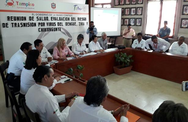 Realizan reunión para evaluar riesgo de transmisión de zika y chikungunya