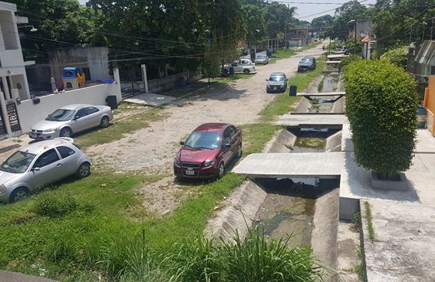 Sin dinero para canal de la calle Aldama