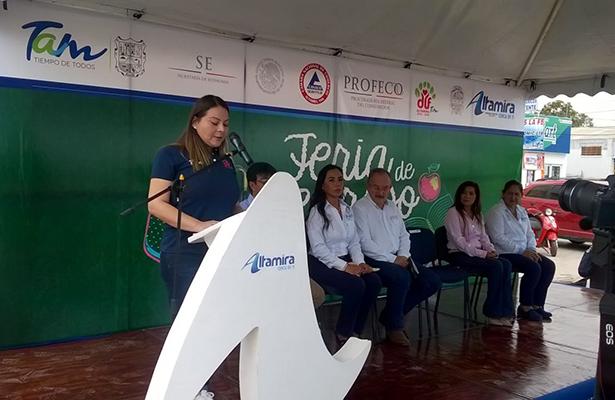 Con atractivos descuentos inició la Feria de Regreso a Clases en Altamira