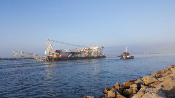 Continúan operaciones en el Puerto de Tampico