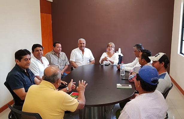 """Reunión de Protección Civil de Tampico Alto ante la llegada de """"Franklin"""""""