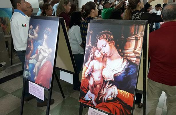Presentan muestra litográfica en el Palacio Municipal