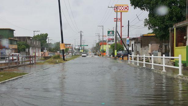 """""""Franklin"""" inunda amplias zonas del Sur de Tamaulipas"""