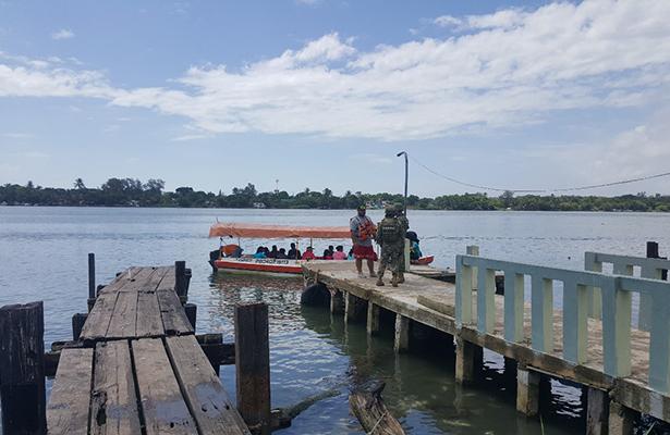 Marina supervisa condiciones de corriente en el río Pánuco