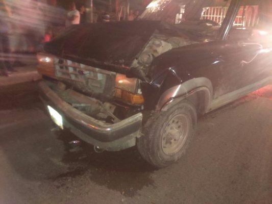 Mortal choque en la Vicente Guerrero