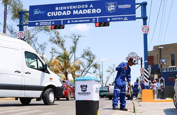 A barrer Ciudad Madero