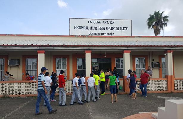 Ciclo escolar arrancará con normalidad en escuelas situadas en zonas de riesgo
