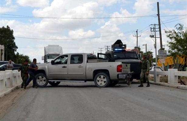 Río Bravo, escenario de tiroteos y persecuciones