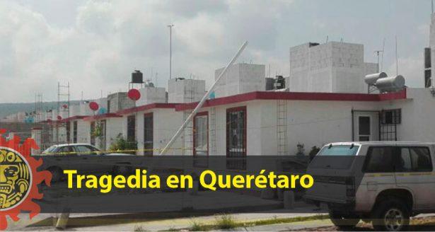Tragedia en San Juan del Río; mujer mata a sus hijos y luego se suicida
