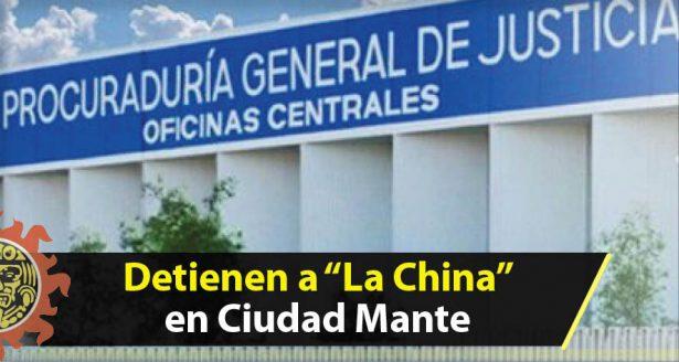 """Detienen a """"La China"""" en Ciudad Mante"""