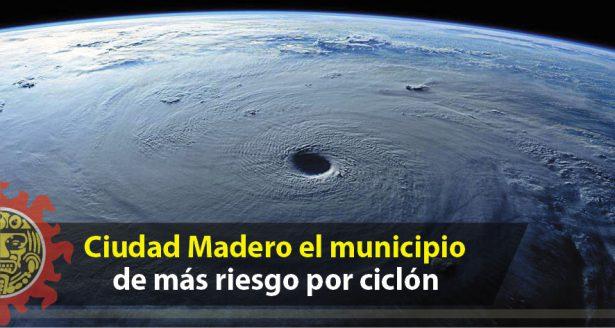 Ciudad Madero el municipio de más riesgo por ciclón